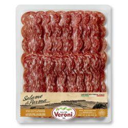VERONI - Pre-Sliced Salame di Parma - Mild Salame with Salt & Pepper 4 Oz