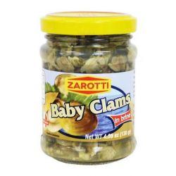 Zarotti - Baby Clams in brine (130gr - 4.59 oz)
