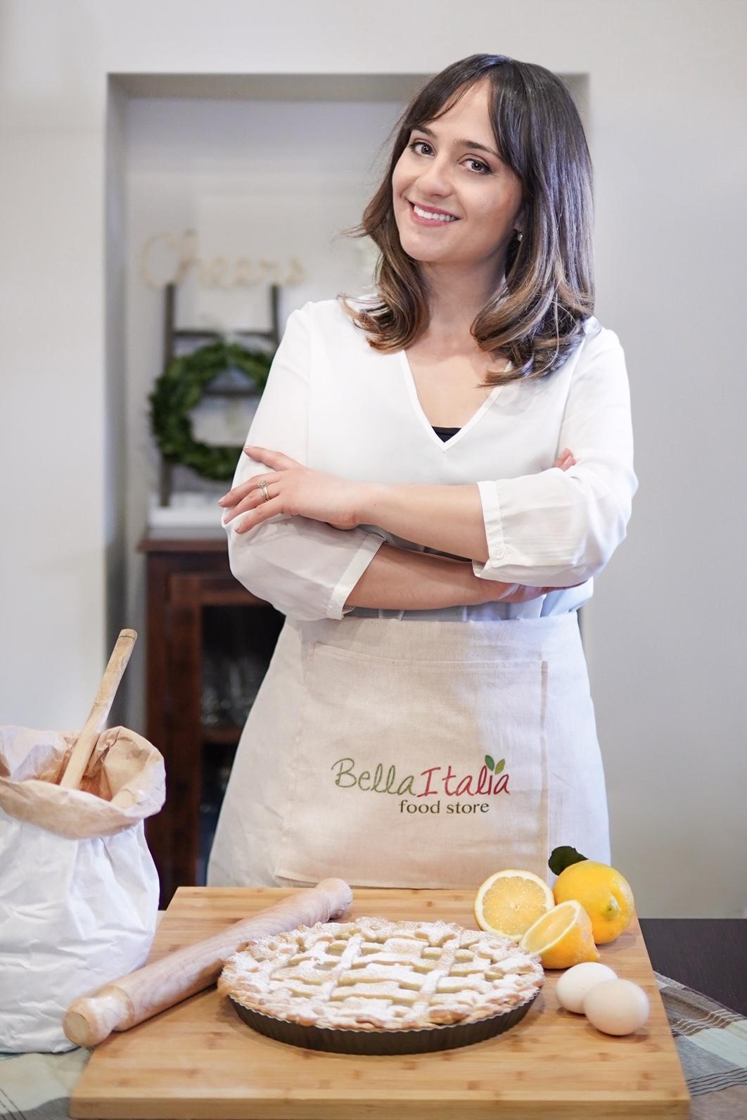 Federica's Portrait for Bella Italia
